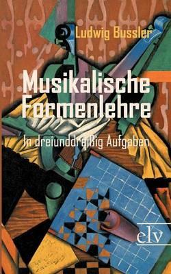 Musikalische Formenlehre (Paperback)
