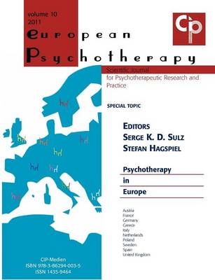 European Psychotherapy 2011 (Paperback)