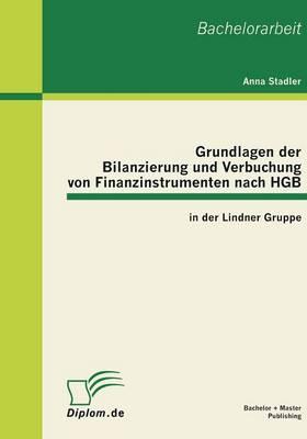 Grundlagen Der Bilanzierung Und Verbuchung Von Finanzinstrumenten Nach Hgb in Der Lindner Gruppe (Paperback)