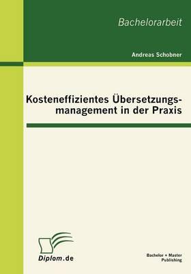Kosteneffizientes Bersetzungsmanagement in Der Praxis (Paperback)