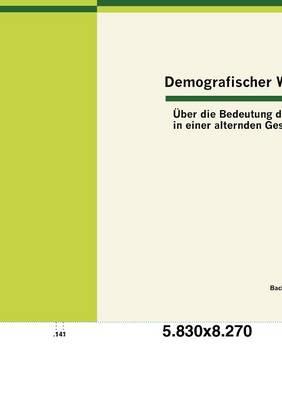 Demografischer Wandel: ber Die Bedeutung Des Alters in Einer Alternden Gesellschaft (Paperback)