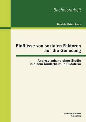 Einfl Sse Von Sozialen Faktoren Auf Die Genesung: Analyse Anhand Einer Studie in Einem Kinderheim in S Dafrika (Paperback)