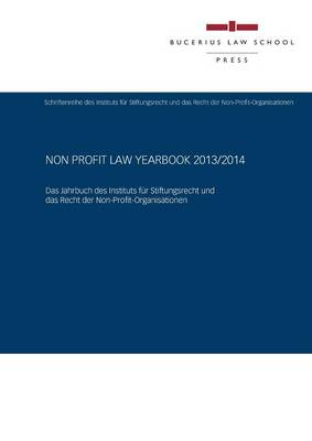 Non Profit Law Yearbook 2013/2014 (Paperback)