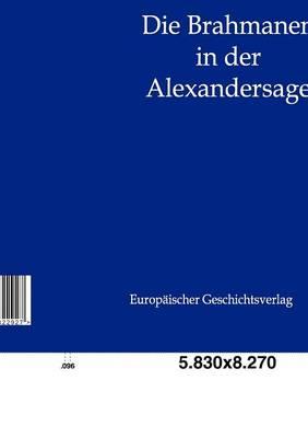 Die Brahmanen in Der Alexandersage (Paperback)