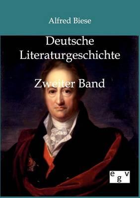 Deutsche Literaturgeschichte (Paperback)