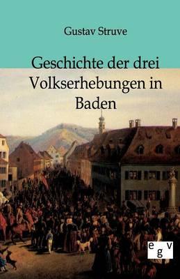 Geschichte Der Drei Volkserhebungen in Baden (Paperback)