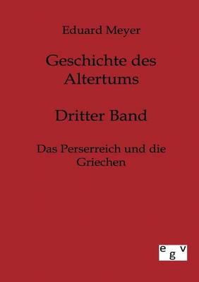 Geschichte Des Altertums (Paperback)