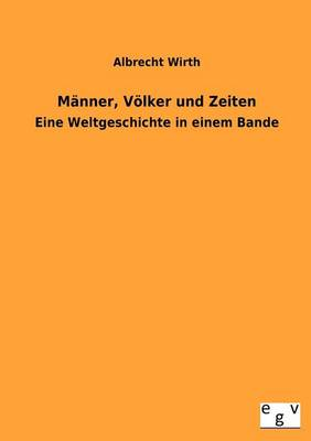 M nner, V lker Und Zeiten (Paperback)
