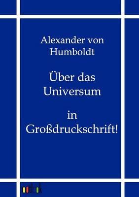 Uber Das Universum (Paperback)