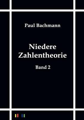 Niedere Zahlentheorie (Paperback)