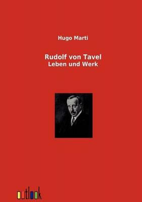 Rudolf Von Tavel (Paperback)
