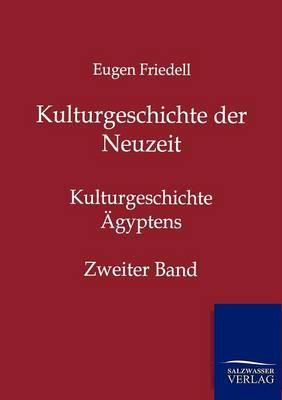 Kulturgeschichte Der Neuzeit (Paperback)