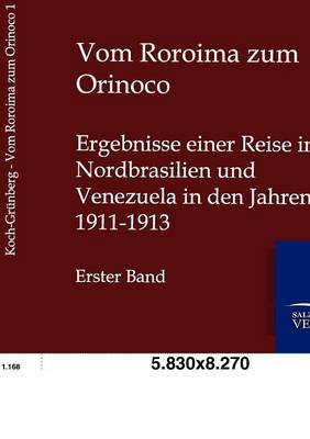 Vom Roroima Zum Orinico (Paperback)