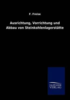Ausrichtung, Vorrichtung Und Abbau Von Steinkohlenlagerstatten (Paperback)