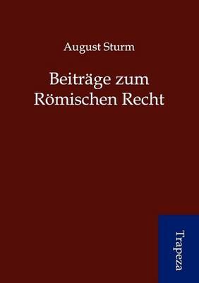 Beitr GE Zum R Mischen Recht (Paperback)