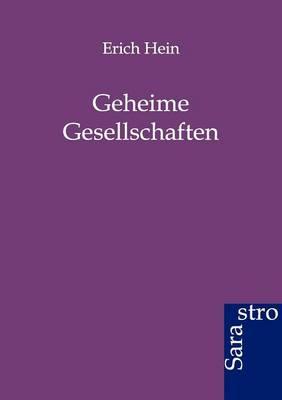 Geheime Gesellschaften (Paperback)