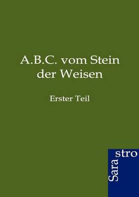 A.B.C. Vom Stein Der Weisen (Paperback)