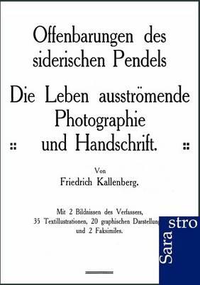 Offenbarungen Des Siderischen Pendels (Paperback)