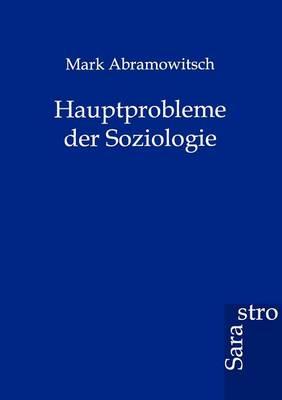 Hauptprobleme Der Soziologie (Paperback)