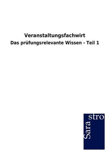 Veranstaltungsfachwirt (Paperback)