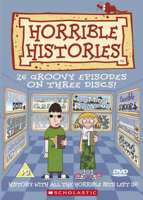 Horrible Histories: 26 Groovy Episodes - Horrible Histories (DVD)