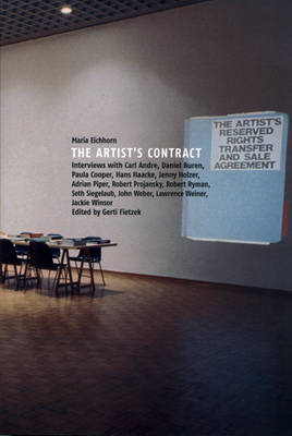 Maria Eichhorn: The Artist's Contract (Paperback)