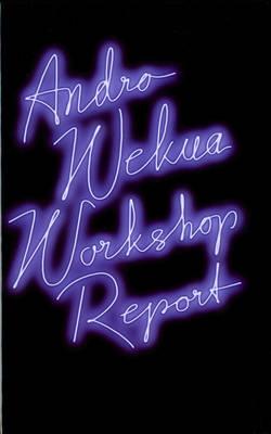 Andro Wekua: Workshop Report (Hardback)