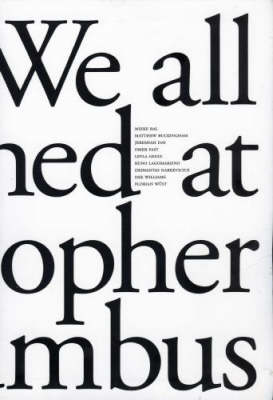 We All Laughed at Christopher Columbus (Paperback)