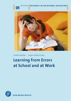 Learning from Errors at School and at Work - Vocational Education 1 (Paperback)