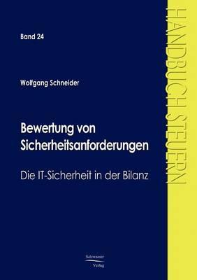 Bewertung Von Sicherheitsanforderungen (Paperback)