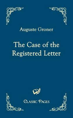 The Case of the Registered Letter (Paperback)