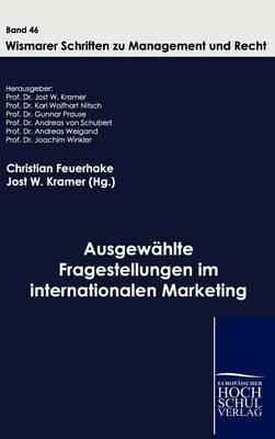 Ausgew Hlte Fragestellungen Im Internationalen Marketing (Hardback)