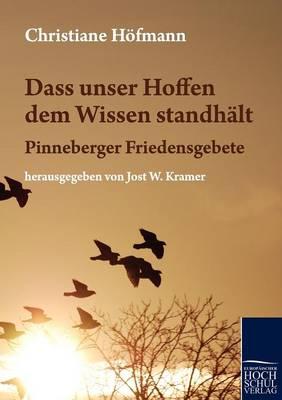 Dass Unser Hoffen Dem Wissen Standh LT (Paperback)