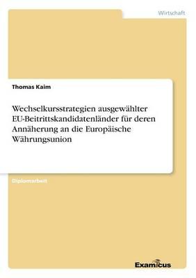 Wechselkursstrategien ausgewahlter EU-Beitrittskandidatenlander fur deren Annaherung an die Europaische Wahrungsunion (Paperback)