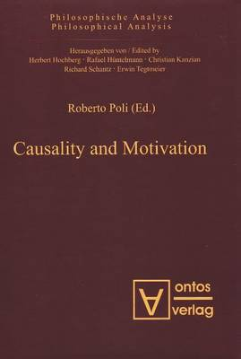 Causality and Motivation (Hardback)