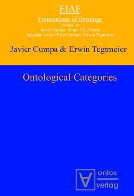 Ontological Categories (Hardback)