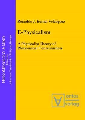 E-Physicalism: A Physicalist Theory of Phenomenal Consciousness (Hardback)