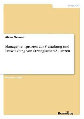 Managementprozess Zur Gestaltung Und Entwicklung Von Strategischen Allianzen (Paperback)
