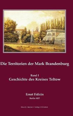 Territorien Der Mark Brandenburg (Hardback)