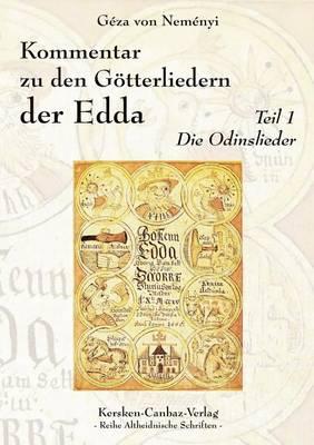 Kommentar Zu Den G Tterliedern Der Edda (Paperback)