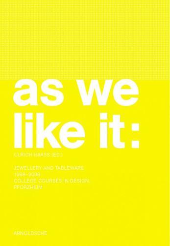 As We Like it (Hardback)
