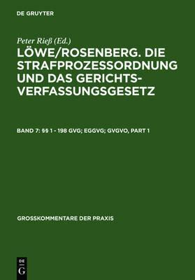 1 - 198 Gvg; Eggvg; Gvgvo - Grosskommentare Der Praxis (Hardback)