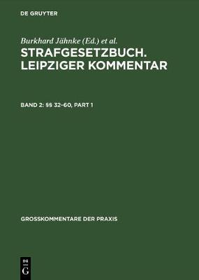 32-60 - Grosskommentare Der Praxis (Hardback)