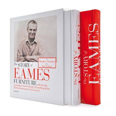 The Story of Eames Furniture (Hardback)