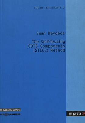 The Self-testing COTS Components (STECC) Method (Paperback)