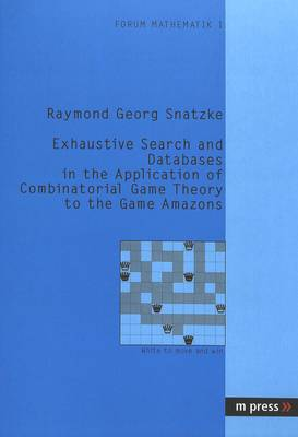 Exhaustive Search and Databases in the Application of Combinatorial Game Theory to the Game Amazons (Paperback)