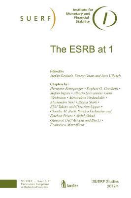 The ESRB at 1: SUERF Studies 2012/4 - SUERF-Studies (Paperback)