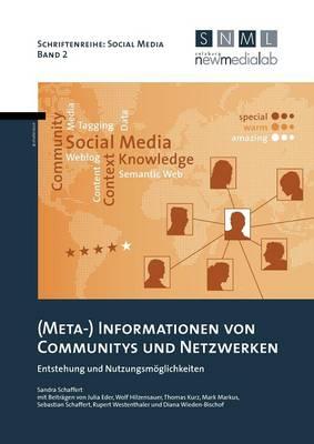 (Meta-) Informationen Von Communitys Und Netzwerken (Paperback)