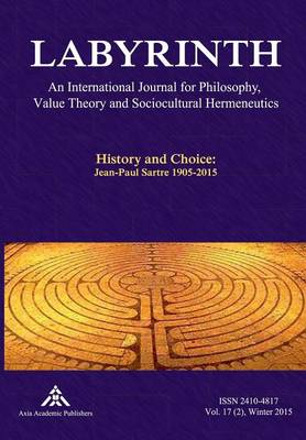 History and Choice: Jean-Paul Sartre 1905-2015 (Paperback)