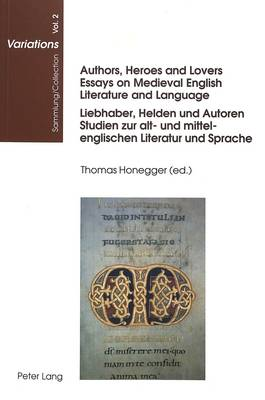 authors heroes and lovers essays on medieval english literature  authors heroes and lovers essays on medieval english literature and  language liebhaber helden